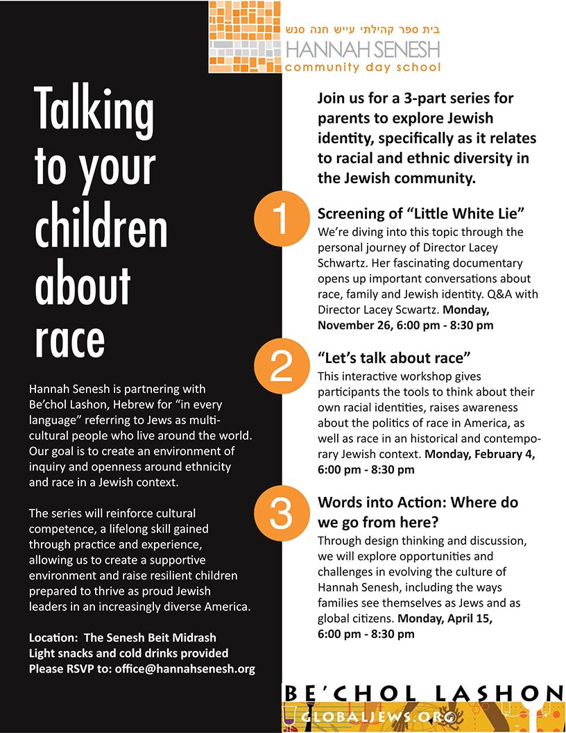 Talking to Your Children About Race